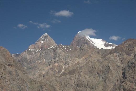 Фанские горы и Гиссарский хребет